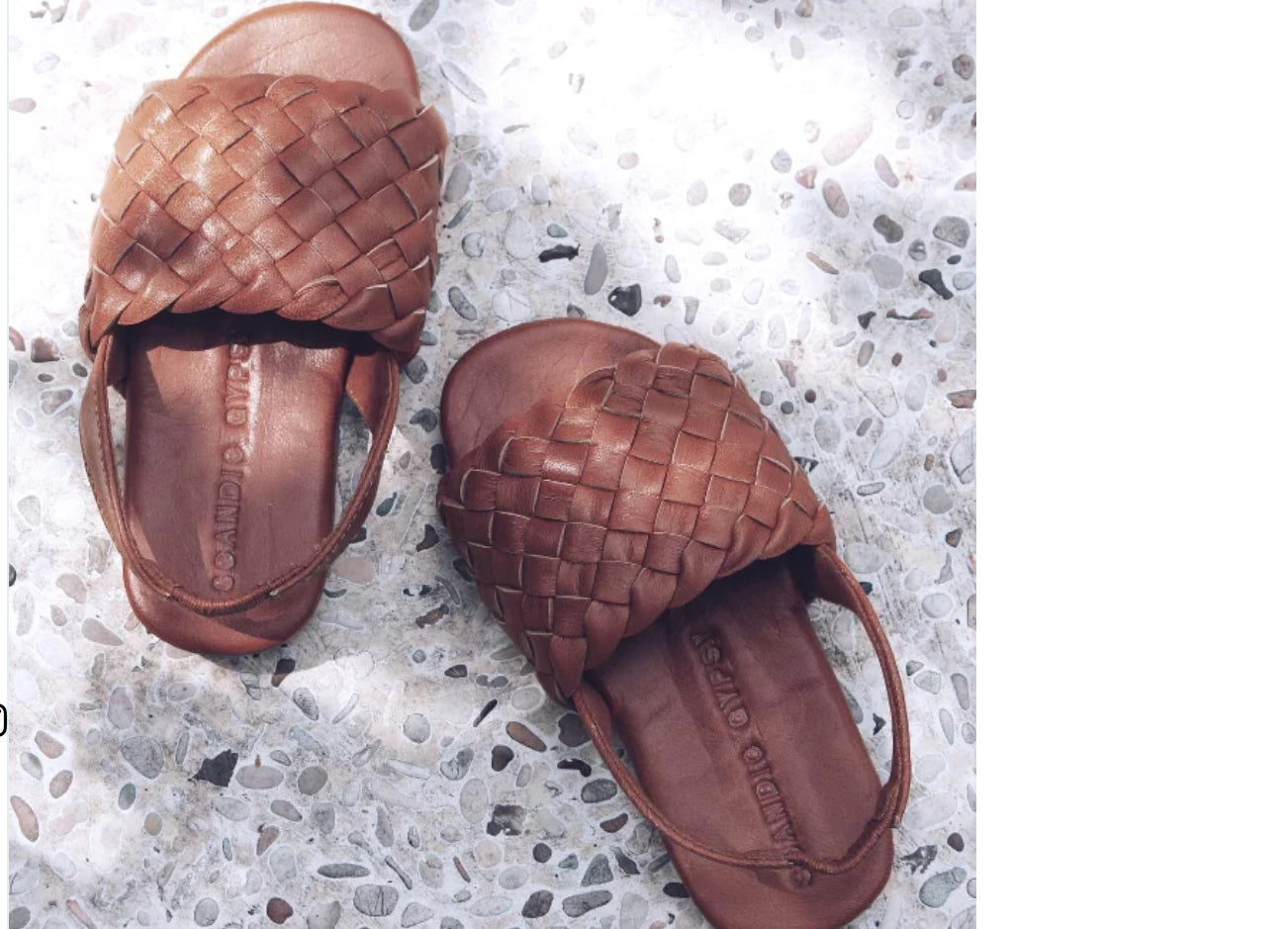 Little Gypsy Sandal - Summer Tan or Nudie