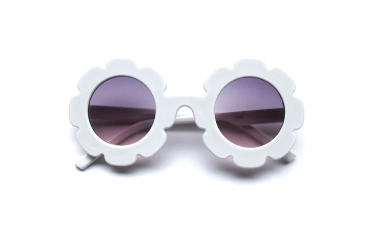 Stella Sunglasses: white or peach pink