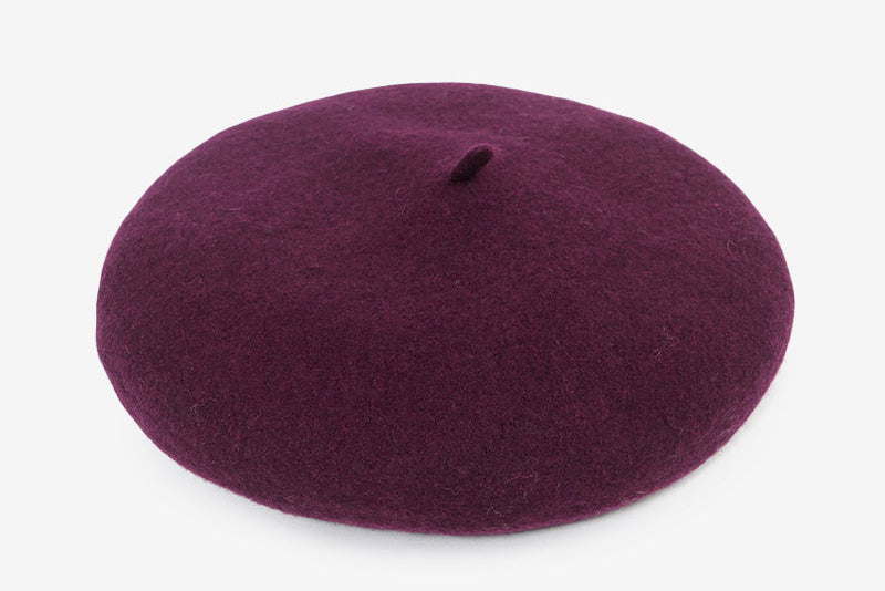London Wool Beret: Size S and M/L available
