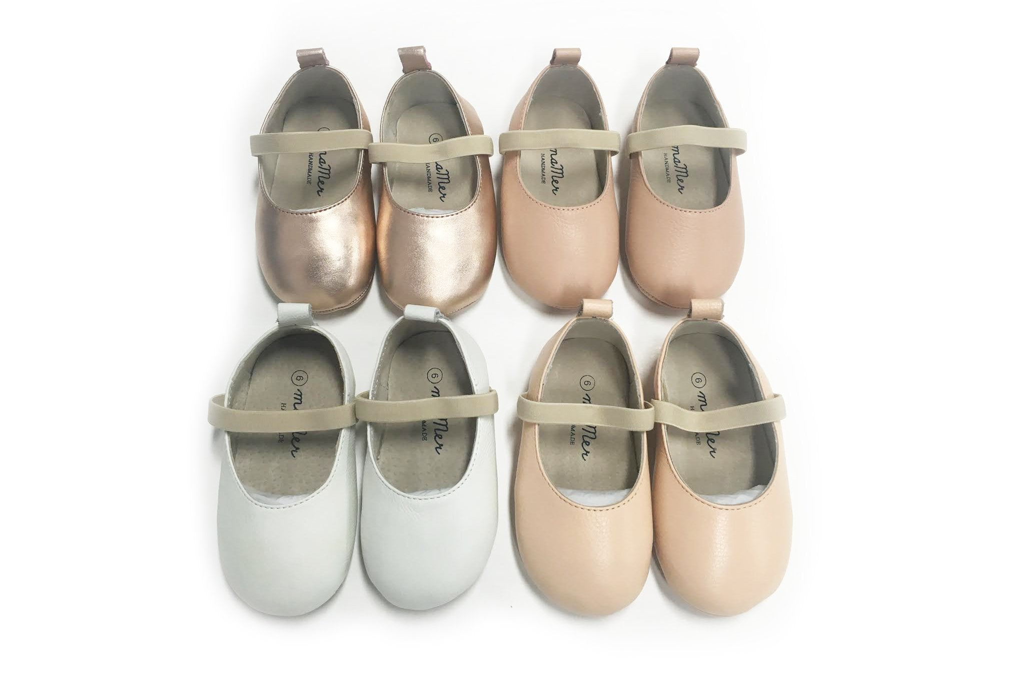 Capri Ballet Shoes - handmade from soft leather: SIZE AU5 and AU6 ONLY LEFT