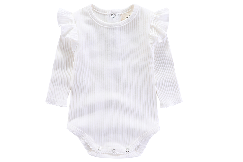 Marabelle 100% cotton bodysuit - 0-3M, 3-6M, 6-12M, 1-2Y