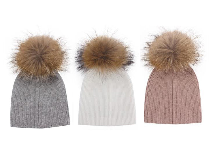 TERRA - CASHMERE BEANIES - SIZE S
