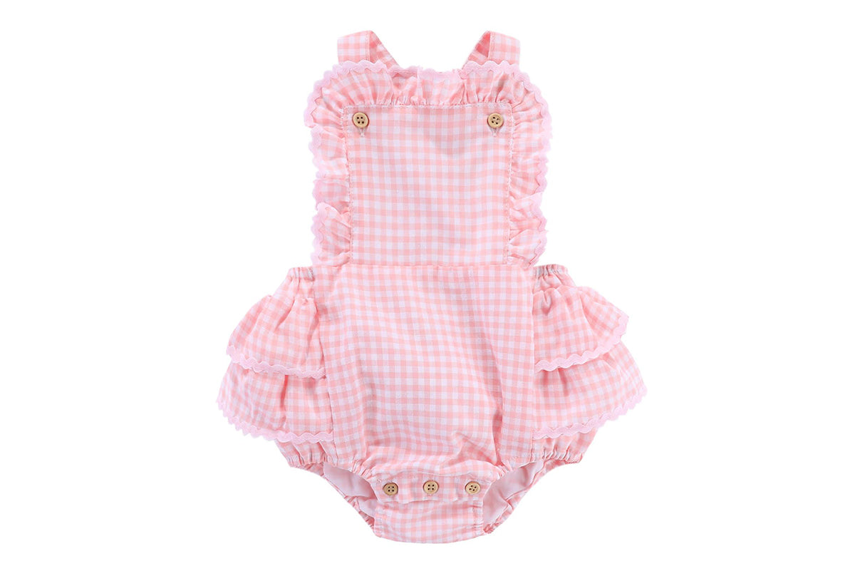 Arles romper: 3-6M only left