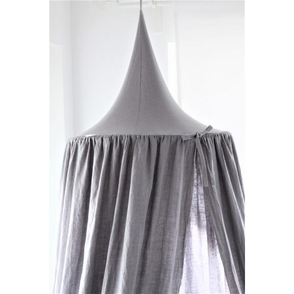 Linen Canopy: Colours available: Dove Grey, Powder Pink