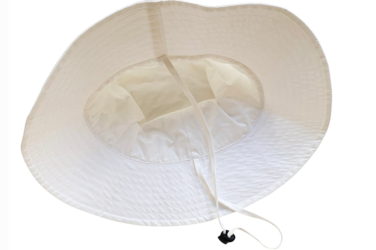 Capri hat: white, pink, terra - in stock