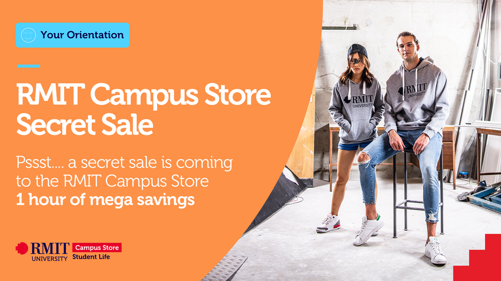 RMIT Campus Store Secret Sale