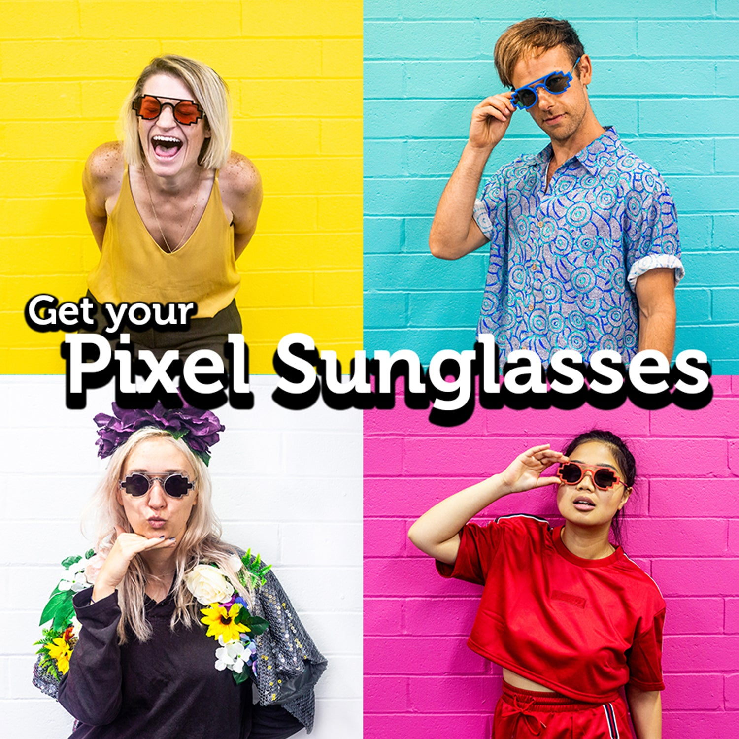 Pixel Sunglasses tile