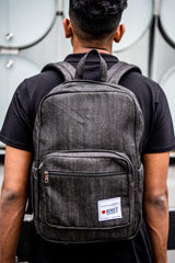 Royal Black Denim BeeKeeper Parade Backpack