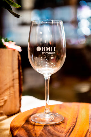 RMIT Wine Glasses Gift Pack - in-store pick up only
