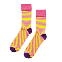 The Pins Stripe Socks