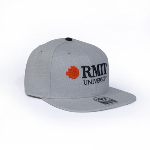 GREY CAPTAIN SNAPBACK