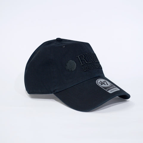 BLACK ON BLACK ADJUSTABLE CAP