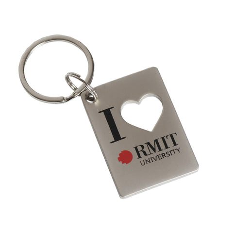 I Heart RMIT Key Ring