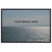 Load image into Gallery viewer, Custom Framed Matte Poster