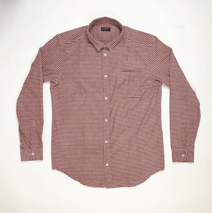 Burgundy Stripes