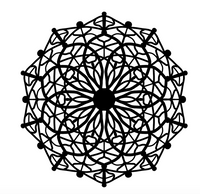 Hard Mandala Coloring Pages Vol. 2