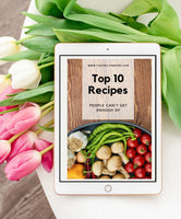 To Simply Inspire's Top 10 Most Popular Recipes Cookbook