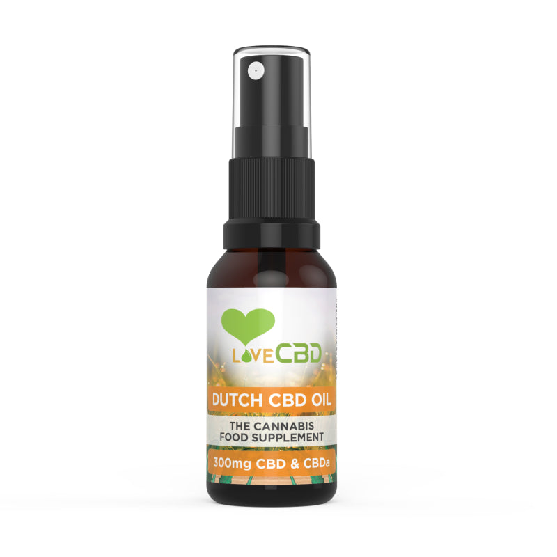 Love CBD 20ml Dutch Oil Spray (300mg)