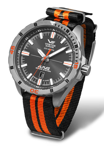 bi-colour Nato nylon strap