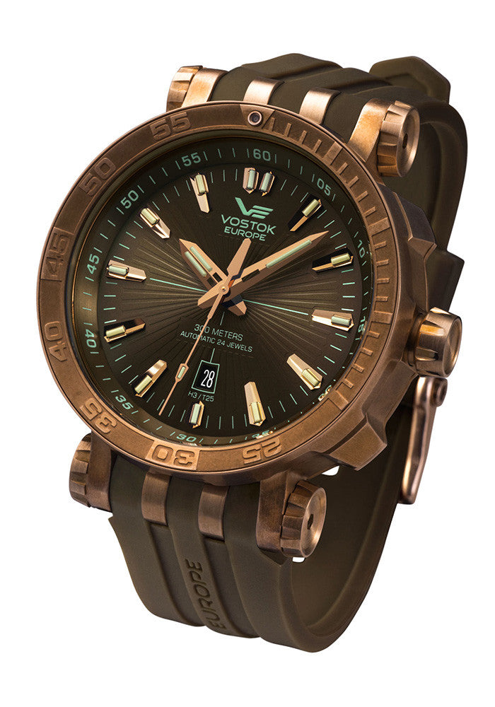 Energia Automatic Bronze 1575O285 with silicone strap