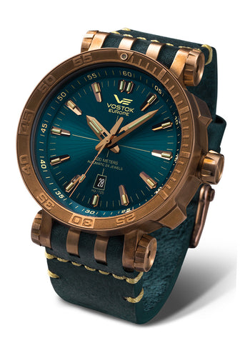 Energia Automatic Bronze 1575O286 with leather strap