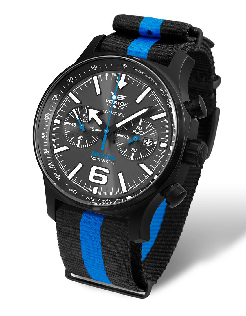 on bi-colour nato style nylon strap
