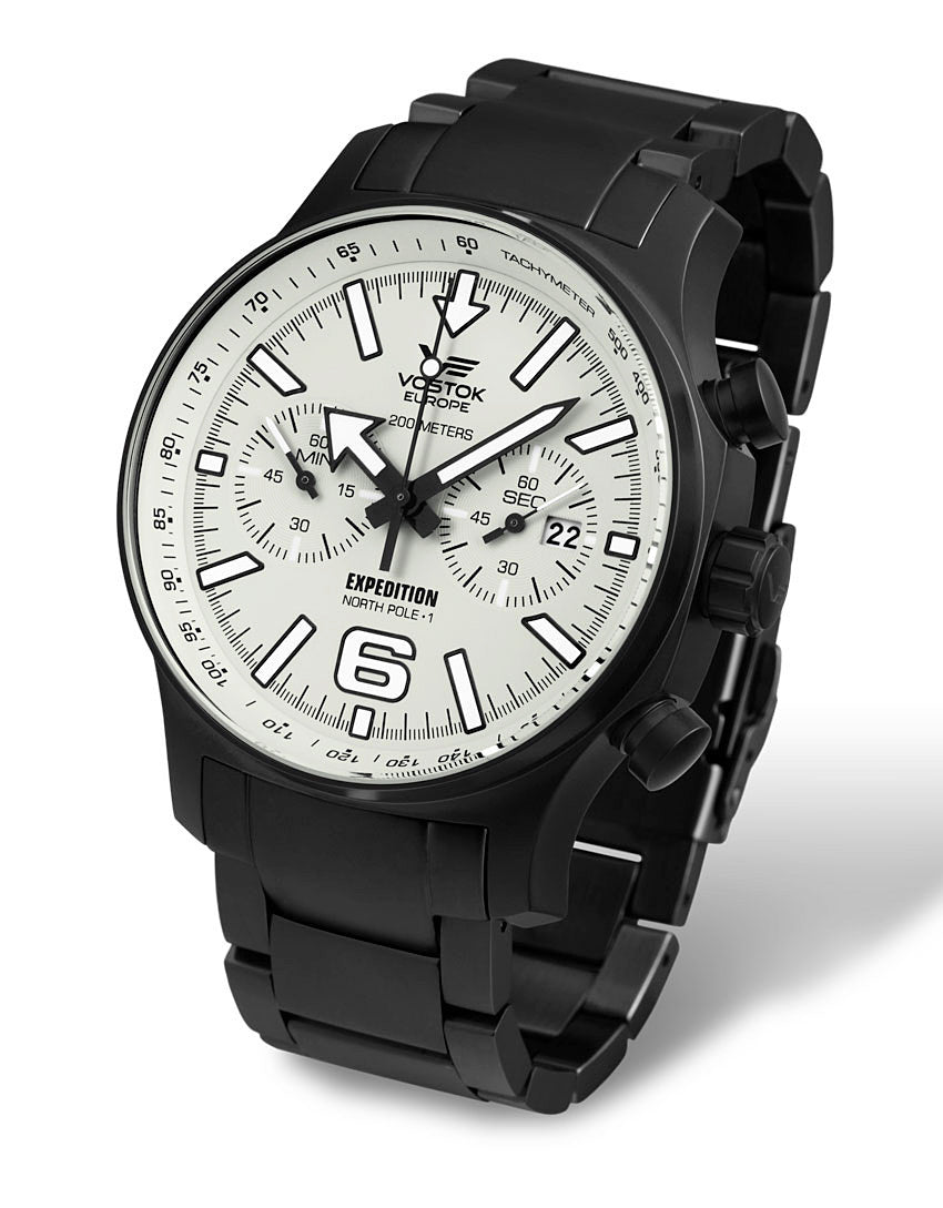 on black PVD s/steel bracelet