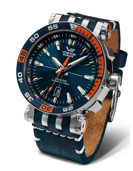 Energia Automatic 1575A279 with leather band