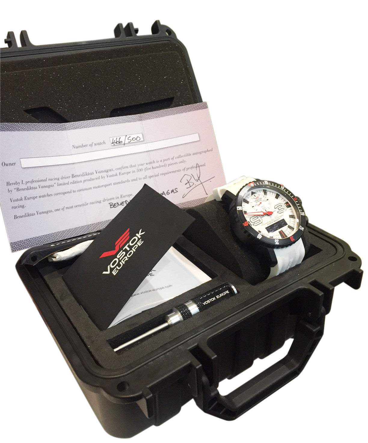 Mriya Multifunction Dakar Limited Edition 15554355 with special dry box and certificate