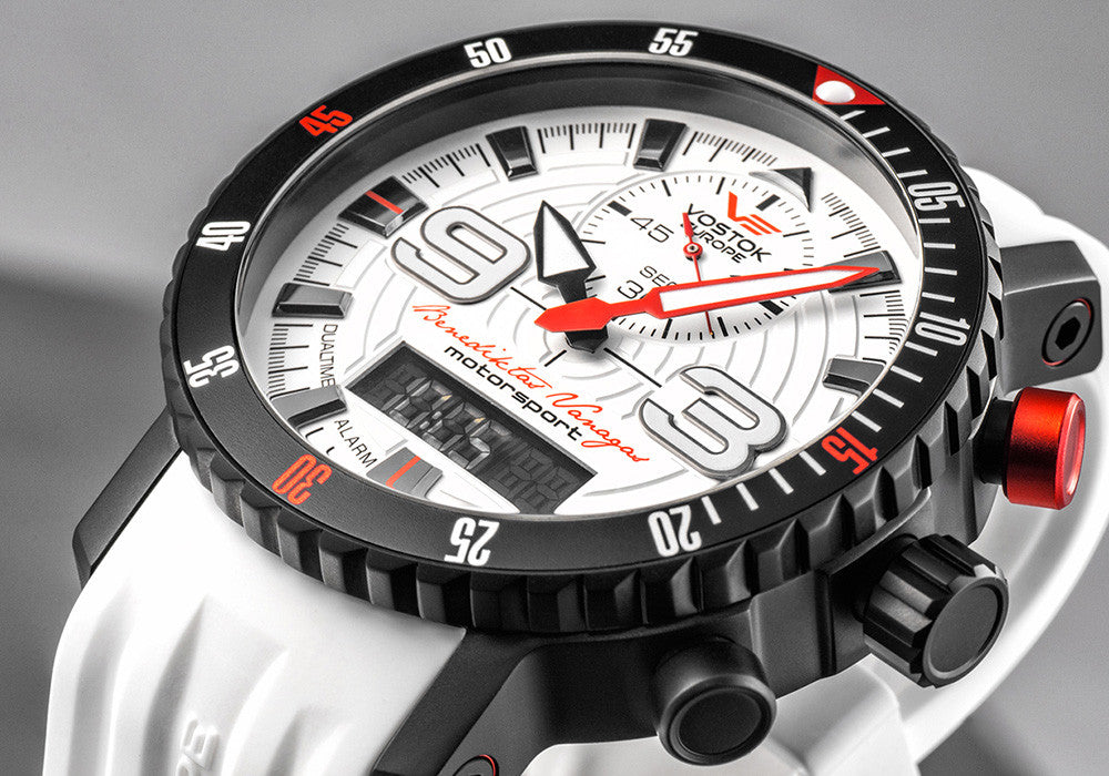 Mriya Multifunction Dakar Limited Edition 15554355 with white silicone strap