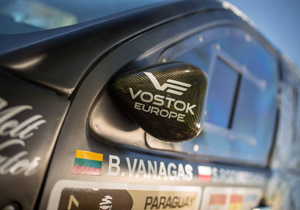Benediktas Vanagas Vostok-Europe Dakar Rally car