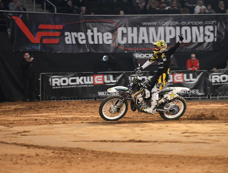 Vostok sponsored the FMX world championship in Poland