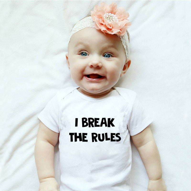 Make & Break the Rules Dad-Baby Outfit