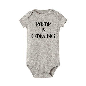 Poop Is Coming - Bodysuit