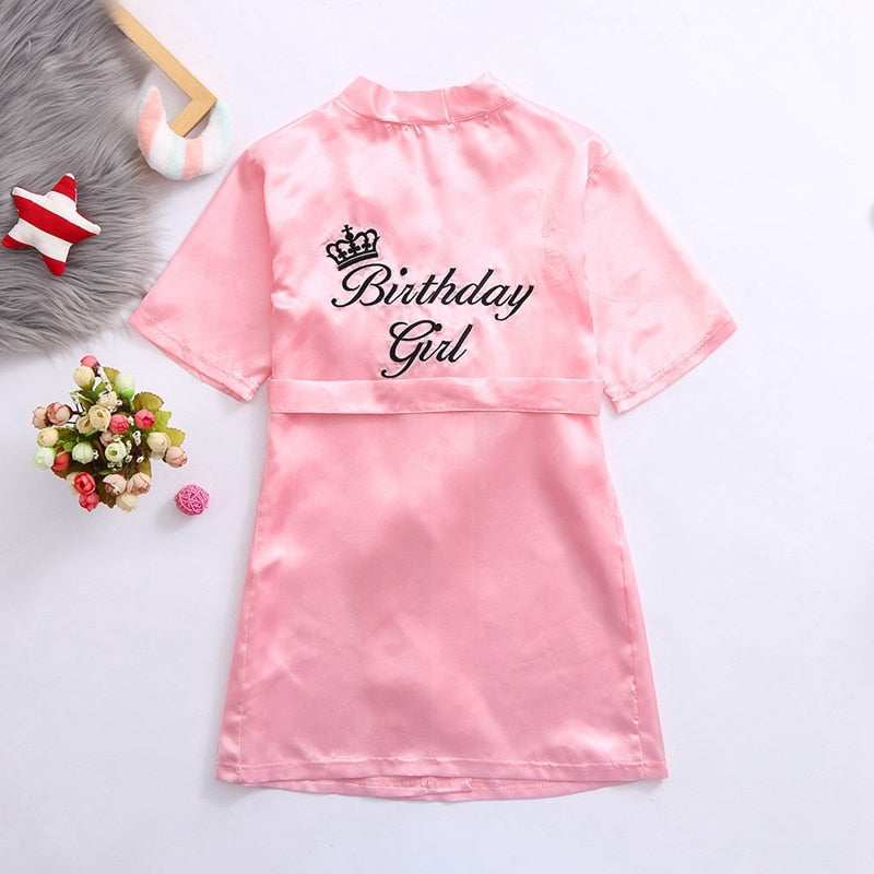 Princess Birthday Girl Robe