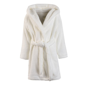 Ultra Soft Kids Robes - White