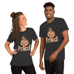 Fitness Unisex Printed T-Shirt