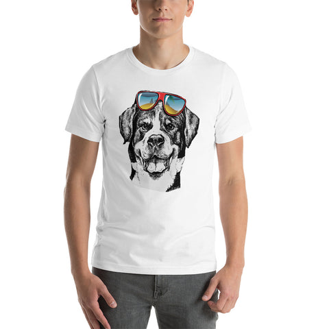 Dog Printed Unisex T-Shirt