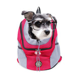 Double Shoulder Portable Travel Backpack for pet dog