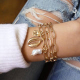 30 Styles Mix Crystal Marble Charm Bracelets for Women