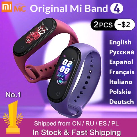 Bracelet Band 4 Heart Rate Fitness Tracker