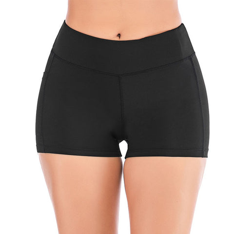 Women Fitness Short with cell phone pocket