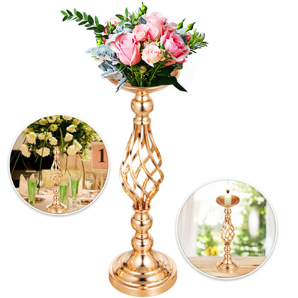 Flower Rack For Wedding 10pcs Metal Candle Stand 18.6