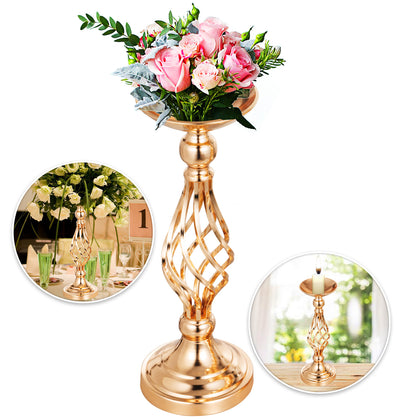 Flower Rack For Wedding 10pcs Metal Candle Stand 16