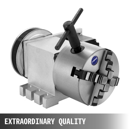 Cnc Router Rotational Rotary Axis 4-jaw Durable Aluminum Alloy High Quality
