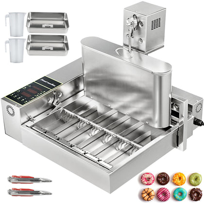 Automatic Donut Maker Machine Automatic Donut Maker 6-row Commercial Donut Maker