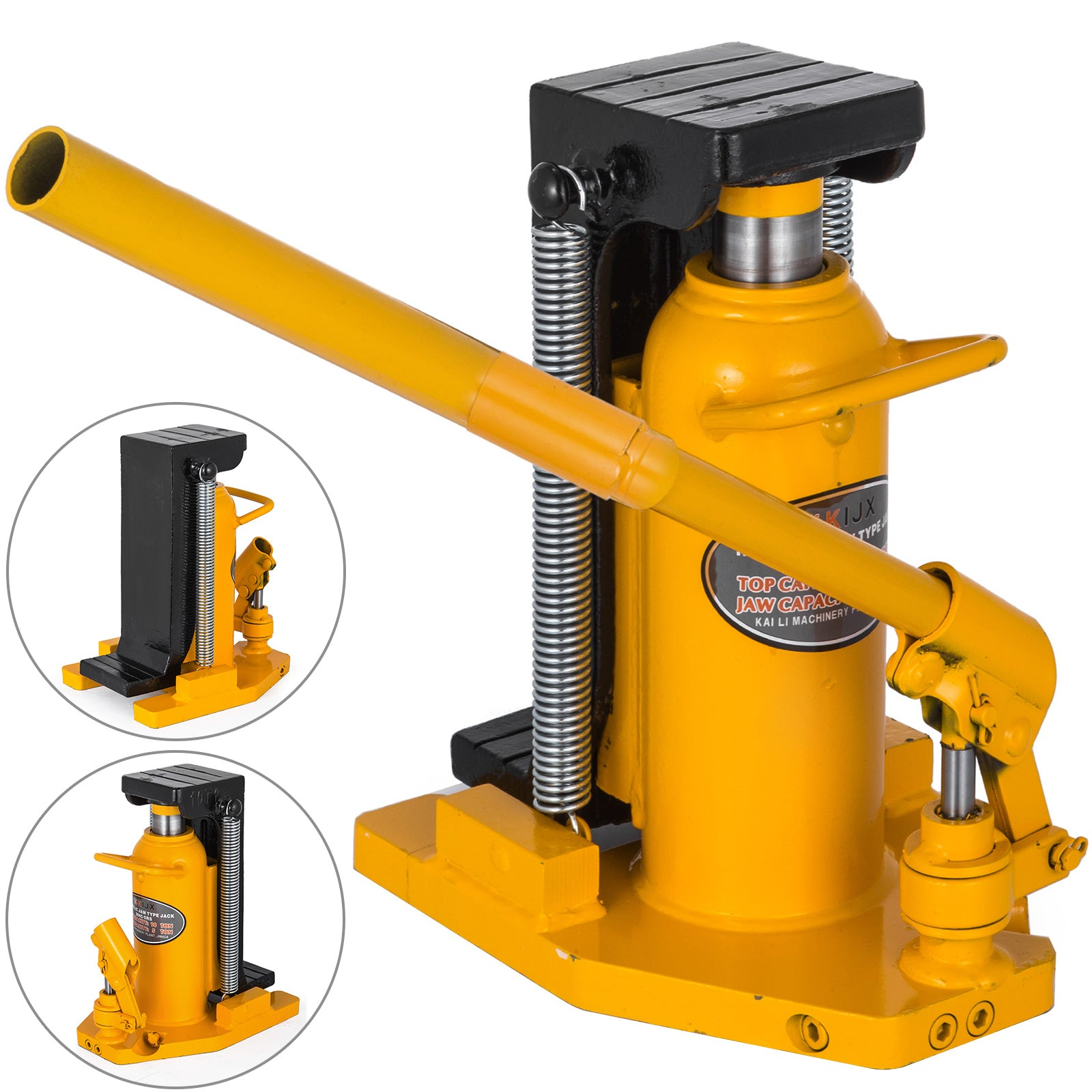 20 Ton Hydraulic Toe Jack Machine Lift Cylinder Machinery Proprietary