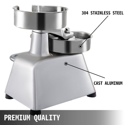 Burger Press Hamburger Patty Maker 4-inch Diameter Burger Press Commercial