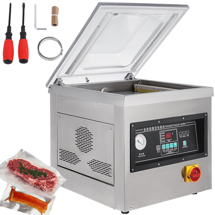 1000w Vacuum Packing Sealing Sealer Machine Single Chamber Kit Dz-400/2f Strong