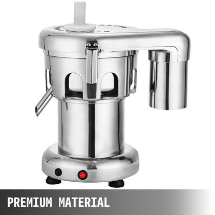 2800rpm Commercial Heavy Duty Fruit Juice Extractor 100~120kg Juice /hour